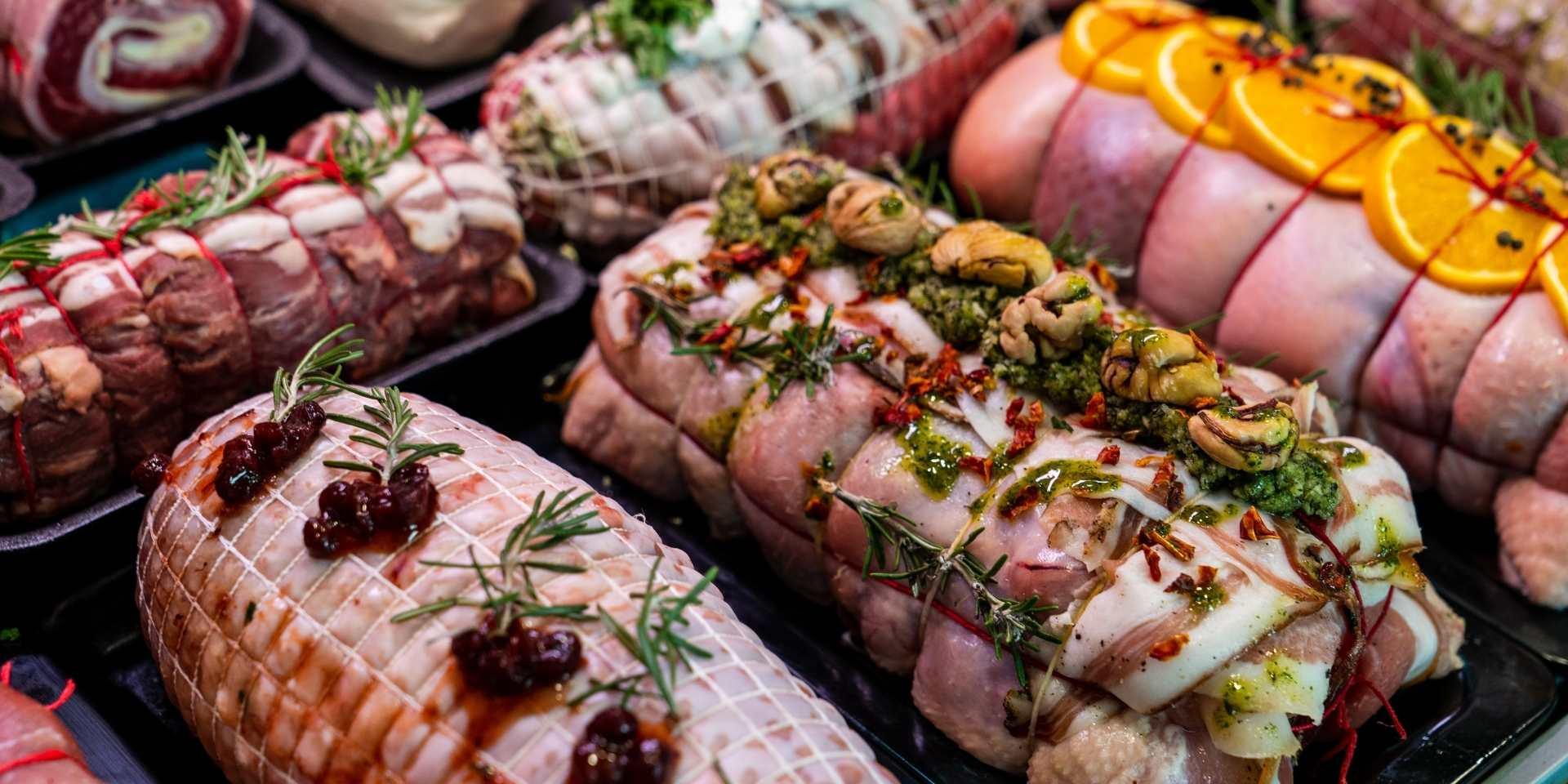 Christmas Menu by J&M Butcher for Christmas Dinners