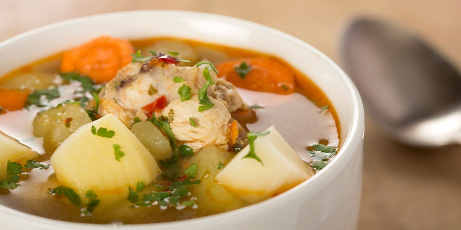Chicken soup with Whole chicken or Chicken breast