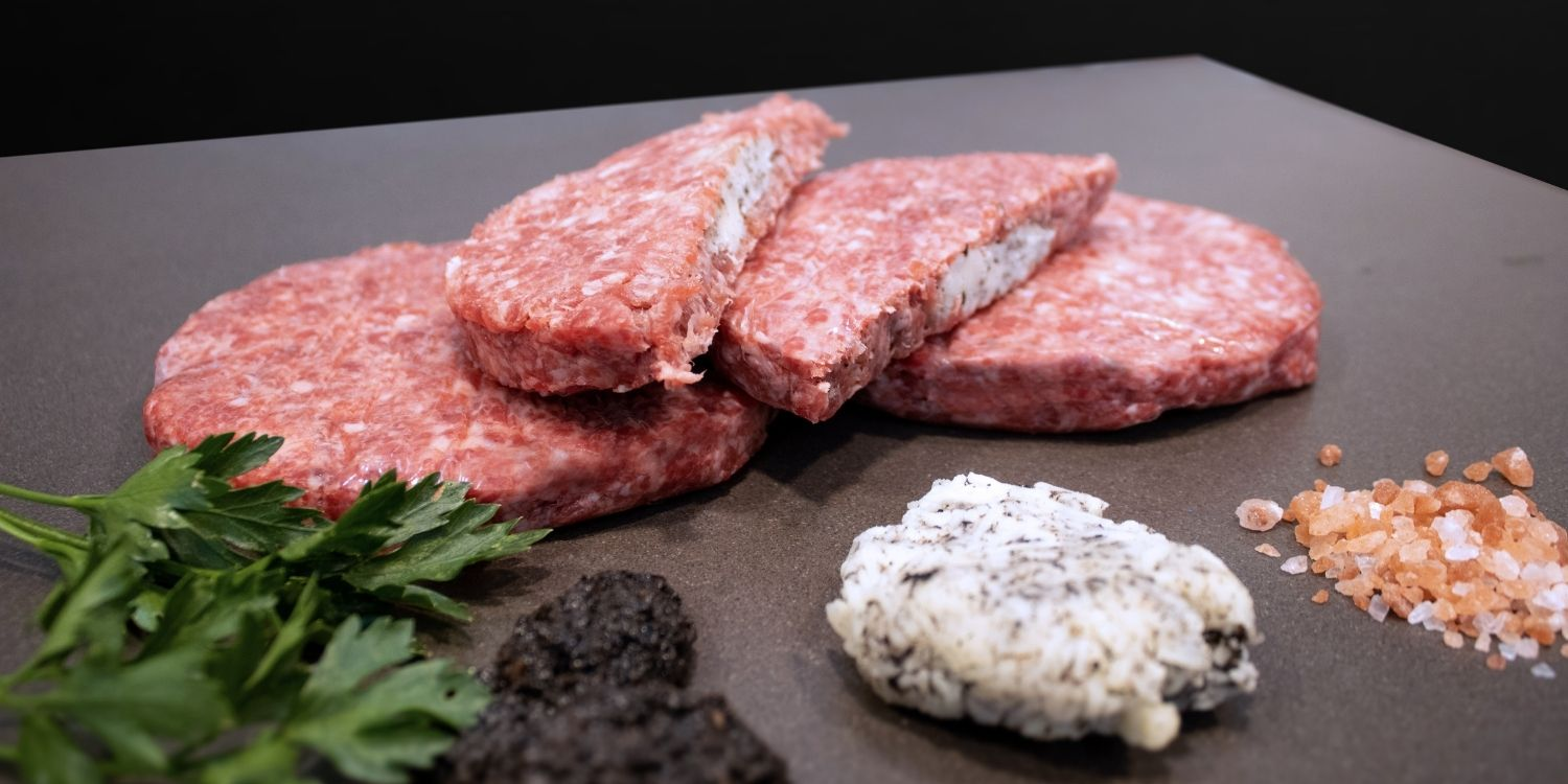 Truffle and Cheese gourmet BBQ burgers in Malta