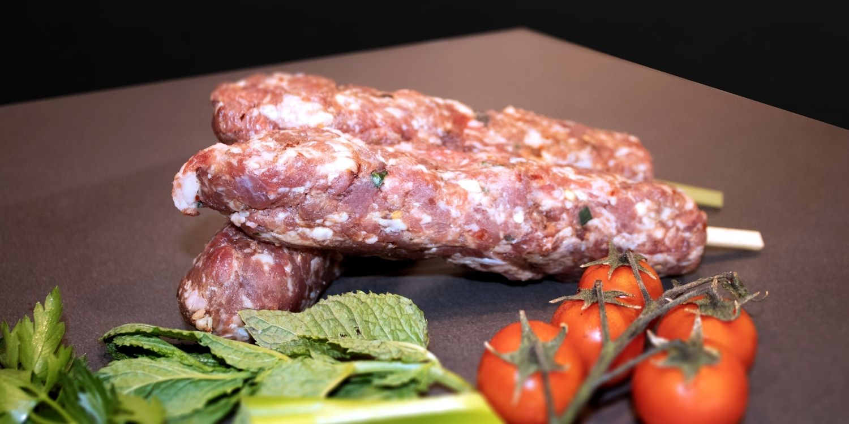 Lamb Kofta from J&M butcher's gourmet barbecue menu